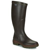 Chaussures Homme Bottes de pluie Aigle PARCOURS 2 Brun