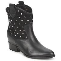Chaussures Femme Boots Alberto Gozzi GIANNA VELOUR-NERO