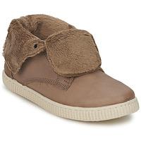 Chaussures Fille Baskets montantes Chipie SABRINA Beige