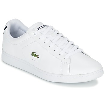 Chaussures Homme Baskets basses Lacoste CARNABY EVO LCR Blanc