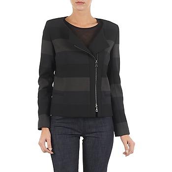 Vêtements Femme Vestes / Blazers Lola VIE DUP Noir / Gris