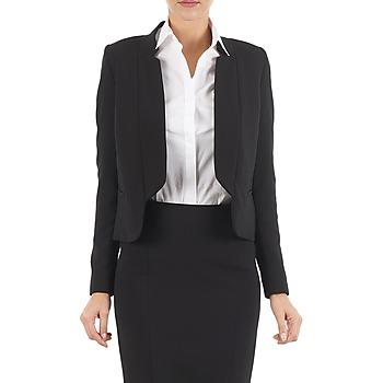 Vêtements Femme Vestes / Blazers Lola DOUBLE VAEL Noir