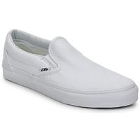 Chaussures Slip ons Vans CLASSIC SLIP ON TRUE WHITE