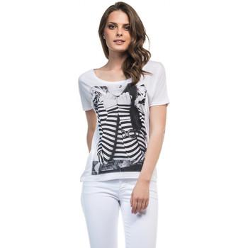 Vêtements Femme T-shirts manches courtes Salsa T-Shirt  Maiorca Blanc Blanc