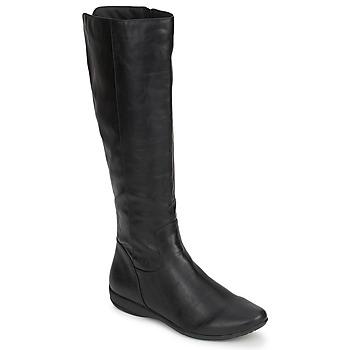 Chaussures Femme Bottes ville Moony Mood GURLEN Noir
