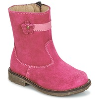Chaussures Fille Boots Citrouille et Compagnie PISTY Fuchsia