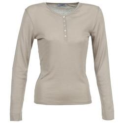 Vêtements Femme T-shirts manches longues Casual Attitude DORINE Taupe