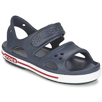 Chaussures Garçon Sandales et Nu-pieds Crocs CROCBAND II SANDAL PS Marine / Blanc