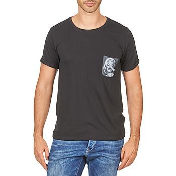 Vêtements Homme T-shirts manches courtes Eleven Paris MARYLINPOCK MEN Noir