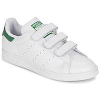 Chaussures Baskets basses adidas Originals STAN SMITH CF Blanc / Vert