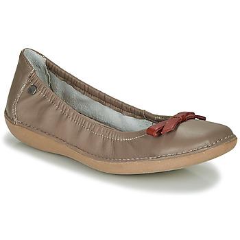 Chaussures Femme Ballerines / babies TBS MACASH Taupe