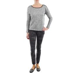 Vêtements Femme Pantalons 5 poches Esprit superskinny cam Pants woven Kaki