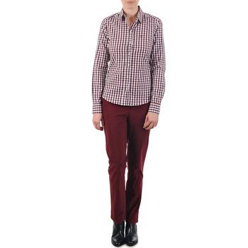 Vêtements Femme Chinos / Carrots Gant C. COIN POCKET CHINO Bordeaux