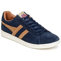 Chaussures Homme Baskets basses Gola EQUIPE SUEDE Marine / Marron