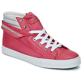 Chaussures Femme Baskets montantes Bikkembergs PLUS 647 Pink / Grey