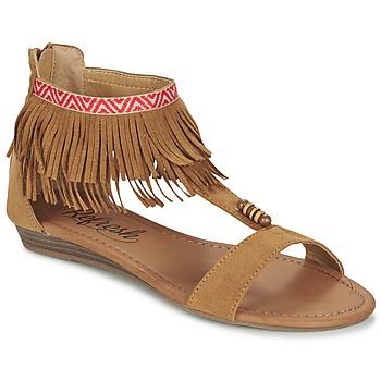 Chaussures Femme Sandales et Nu-pieds Refresh CONNELL Camel