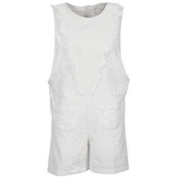Vêtements Femme Combinaisons / Salopettes Brigitte Bardot BB44084 Blanc