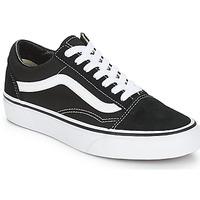 Chaussures Baskets basses Vans OLD SKOOL Noir / Blanc