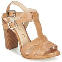 Chaussures Femme Sandales et Nu-pieds Unisa YUM Beige