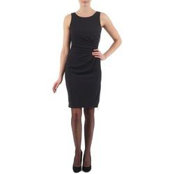 Vêtements Femme Robes courtes Esprit BEVERLY CREPE Noir