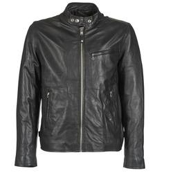 Vêtements Homme Vestes en cuir / synthétiques Schott BLODOU Noir