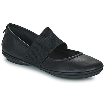 Chaussures Femme Ballerines / babies Camper RIGHT NINA Noir