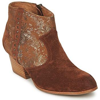 Chaussures Femme Boots Schmoove WHISPER VEGAS Marron / Glitter