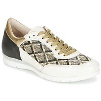 Chaussures Femme Baskets basses Mjus FORCE Noir / Blanc / Or