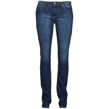 Vêtements Femme Jeans droit Acquaverde NEW GRETTA Bleu