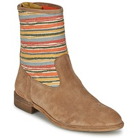 Chaussures Femme Boots Goldmud COLON Taupe / Multicolore