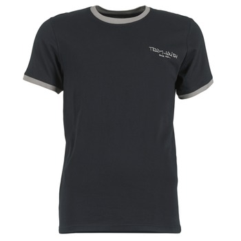 Vêtements Homme T-shirts manches courtes Teddy Smith THE TEE Noir
