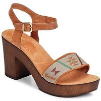 Chaussures Femme Sandales et Nu-pieds Bunker LUCY Marron / Taupe