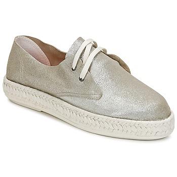 Chaussures Femme Espadrilles Bunker IBIZA Argent