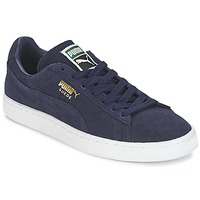 Chaussures Baskets basses Puma SUEDE CLASSIC + Marine