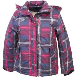 Vêtements Fille Blousons U-topik Hazel mixty jacket g Bleu marine / bleu nuit