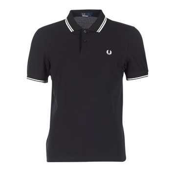 Vêtements Homme Polos manches courtes Fred Perry THE FRED PERRY SHIRT Noir / Blanc