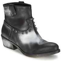 Chaussures Femme Boots Strategia SFUGGO Noir/Argent