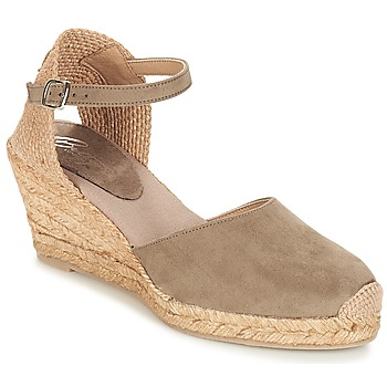 Chaussures Femme Sandales et Nu-pieds Betty London CASSIA Taupe