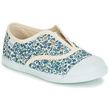 Chaussures Fille Baskets basses Citrouille et Compagnie RIVIALELLE Bleu / Multicolore