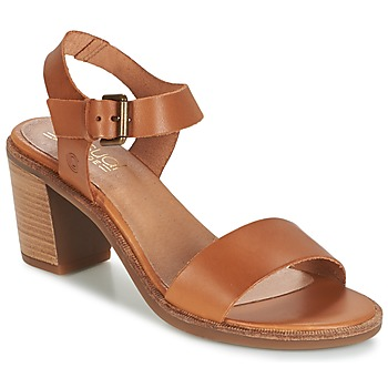 Chaussures Femme Sandales et Nu-pieds Casual Attitude CAILLE Camel