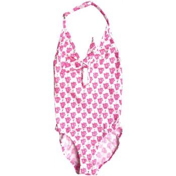 Vêtements Fille Maillots de bain 1 pièce Princesse Ilou Maillot de bain fille 1 pièce imprimé bandana Fushia