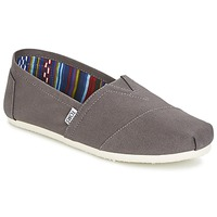 Chaussures Homme Slip ons Toms SEASONAL CLASSICS Gris