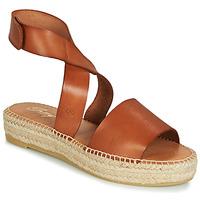Chaussures Femme Sandales et Nu-pieds Betty London EBALUIE Camel