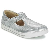 Chaussures Fille Ballerines / babies Birkenstock ABILENE Argent
