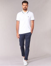 Vêtements Homme Chinos / Carrots Selected THREE PARIS Marine