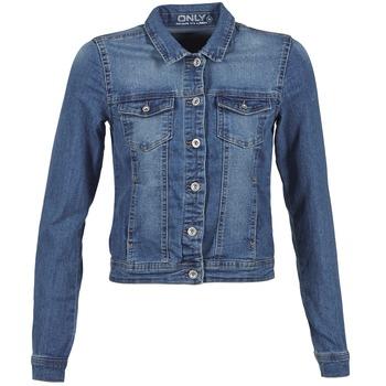 Vêtements Femme Vestes en jean Only WESTA Bleu