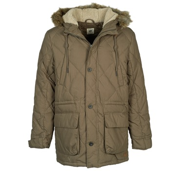 Vêtements Homme Parkas Lee DOWN PARKA Kaki