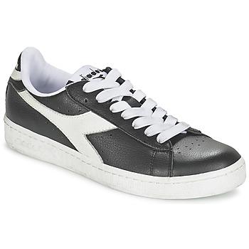 Chaussures Baskets basses Diadora GAME L LOW Noir / Blanc