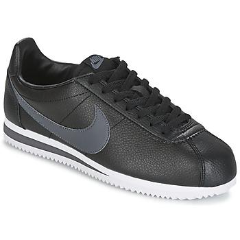 Chaussures Homme Baskets basses Nike CLASSIC CORTEZ LEATHER Noir / Gris