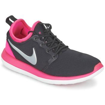 Chaussures Fille Baskets basses Nike ROSHE TWO JUNIOR Noir / Rose
